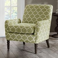 Madison Park Clara Quatrefoil Club Arm Chair