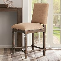 Madison Park Kagen Distressed Counter Stool