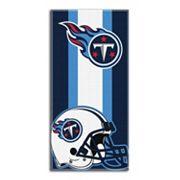 Tennessee Titans Zone Beach Towel