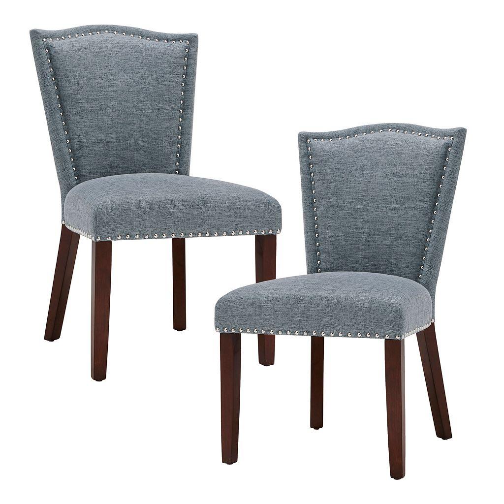 Madison Park Everitt Dining Chair 2-piece Set