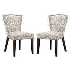 Madison Park Everitt Dining Chair 2 pc Set