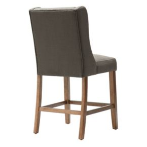 Madison Park Aida Button Tufted Counter Stool