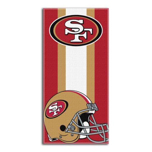 San Francisco 49ers Zone Beach Towel