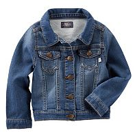 Toddler Girl OshKosh B'gosh® Fountain Wash Denim Jacket