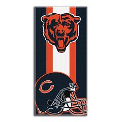 Chicago Bears Zone Beach Towel
