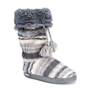MUK LUKS Women's Grace Tall Boot Slippers