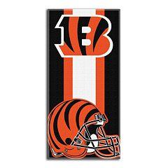 Cincinnati Bengals Zone Beach Towel