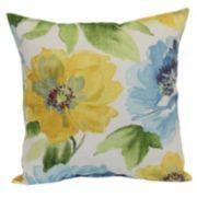 Muree Floral Indoor Outdoor Throw Pillow