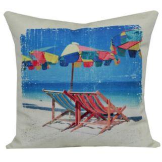 Fiesta Key Indoor Outdoor Throw Pillow