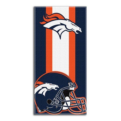 Denver Broncos Zone Beach Towel