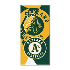 Oakland Athletics Puzzle Oversize Beach Towel by Northwest
