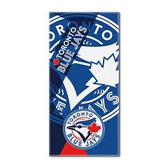 Toronto Blue Jays Puzzle Oversize Beach Towel by Northwest