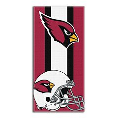 Arizona Cardinals Zone Beach Towel