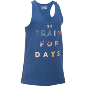 "Girls 7-16 Under Armour ""Train For Days"" Graphic Tank Top"
