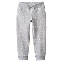 Girls 4-10 Jumping Beans® Dot Knit Jogger Pants