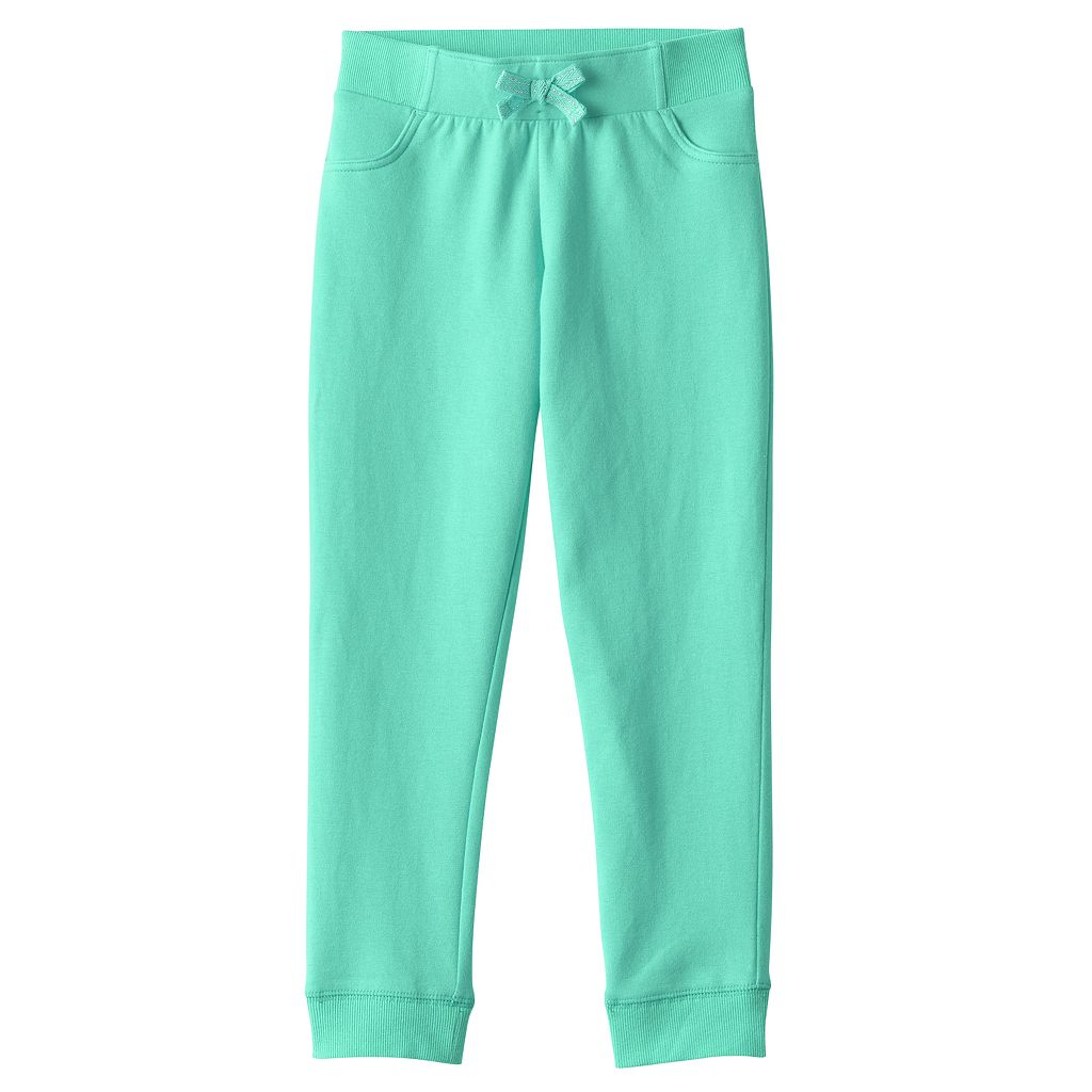 Girls 4-10 Jumping Beans® Solid Jogger Pants