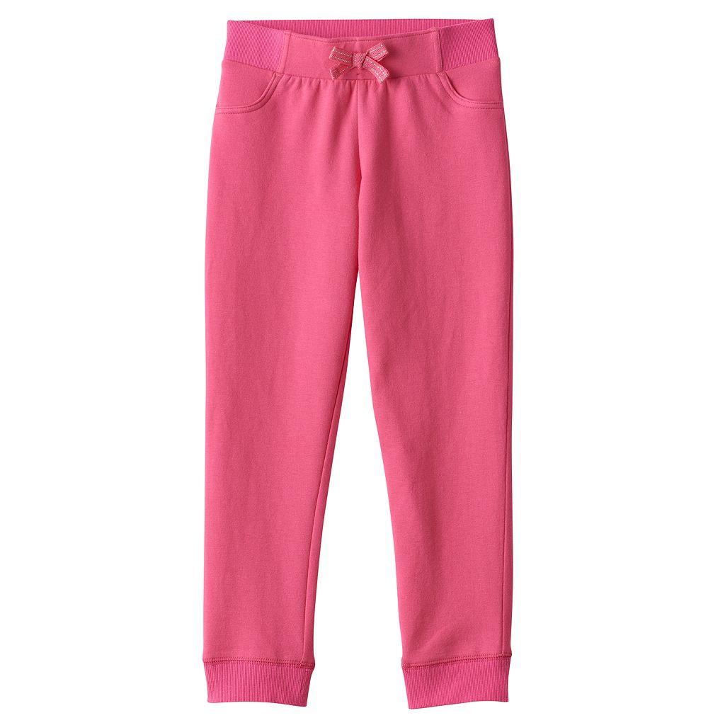 Girls 4-10 Jumping Beans® Solid Jogger Pants