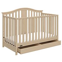 Graco Solano 4-in-1 Convertible Crib with Drawer