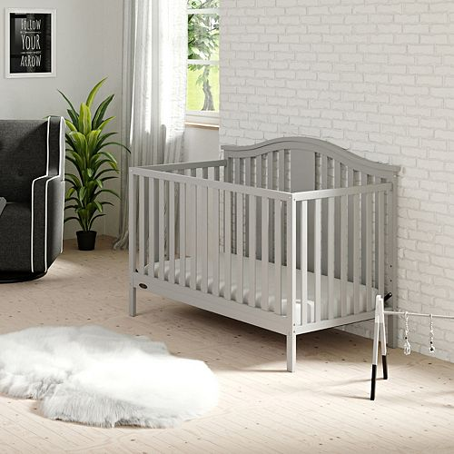 Graco Solano 4-in-1 Convertible Crib with Mattress
