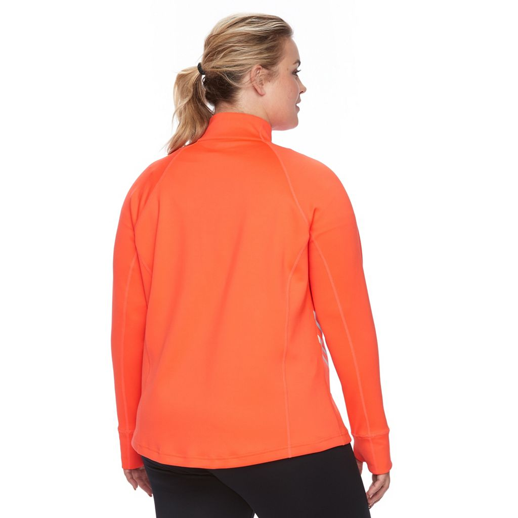 Plus Size FILA Sport® Quarter-Zip Track Jacket