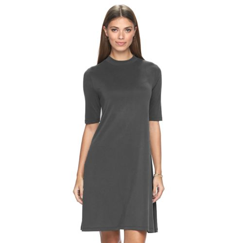 Women's Apt. 9® Mockneck A-Line Dress