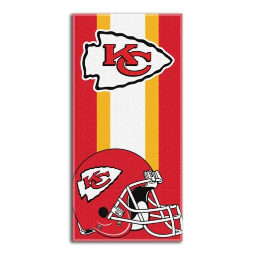 Kansas City Chiefs Zone Beach Towel