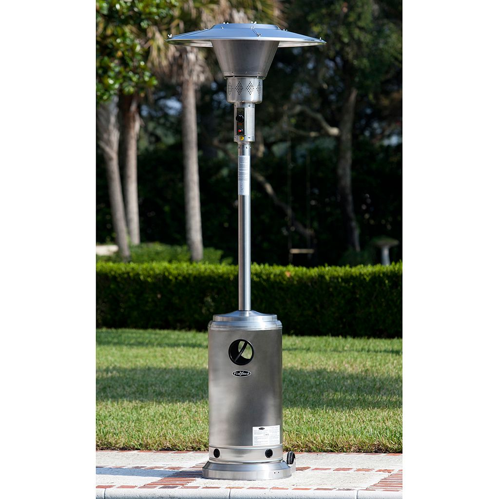 Fire Sense Stainless Steel Round Patio Heater