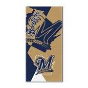 Milwaukee Brewers Puzzle Oversize Beach Towel by Northwest