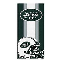 New York Jets Zone Beach Towel
