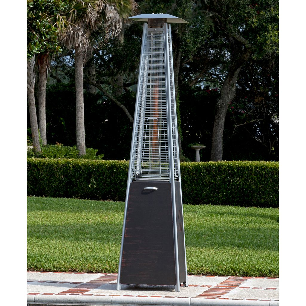 Fire Sense Coronado Pyramid Patio Heater
