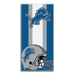Detroit Lions Zone Beach Towel
