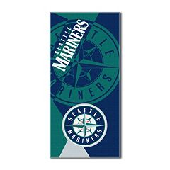 Seattle Mariners Puzzle Oversize Beach Towel by Northwest
