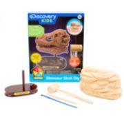 Discovery Kids Dinosaur Skull Dig Set