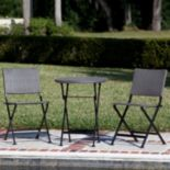 Patio Sense Acosta Outdoor Bistro Table & Chair 3-piece Set
