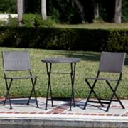 Patio Sense Acosta Outdoor Bistro Table & Chair 3 pc Set