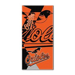 Baltimore Orioles Puzzle Oversize Beach Towel by Northwest