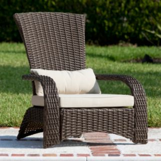 Patio Sense Coconino Outdoor Wicker Arm Chair