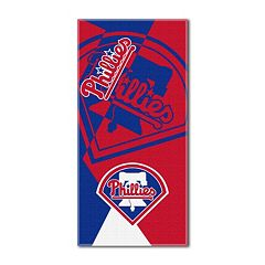 Philadelphia Phillies Puzzle Oversize Beach Towel by Northwest