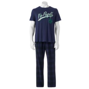 Big & Tall SONOMA Goods for Life Graphic Tee & Lounge Pants Set