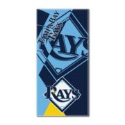 Tampa Bay Rays Puzzle Oversize Beach Towel by Northwest