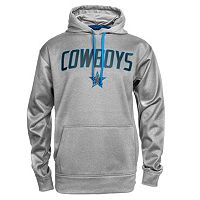 Men's Dallas Cowboys Ruggles Shock Performance Hoodie