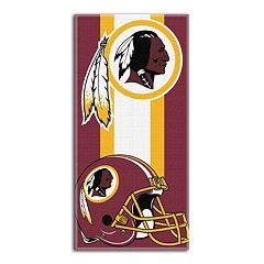 Washington Redskins Zone Beach Towel
