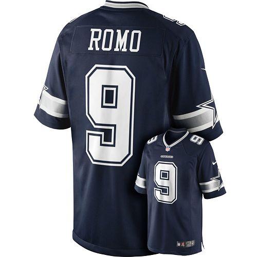 half off b49b5 b0082 Men's Nike Dallas Cowboys Tony Romo Limited Jersey
