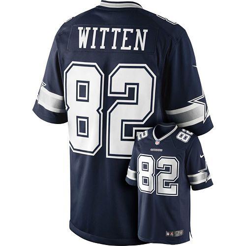 new style 74d45 c8d0a Men's Nike Dallas Cowboys Jason Witten Limited Jersey