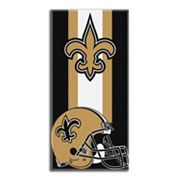 New Orleans Saints Zone Beach Towel