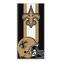 New Orleans Saints Zone Beach Towel