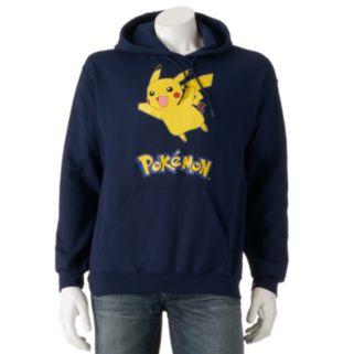 Men's Pokemon Pikachu Pullover Hoodie