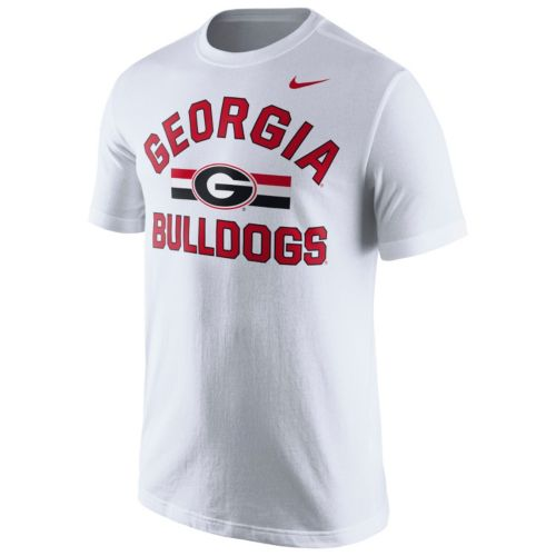 Men's Nike Georgia Bulldogs Stadium First Stripe Tee