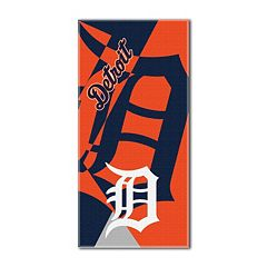 Detroit Tigers Puzzle Oversize Beach Towel by Northwest