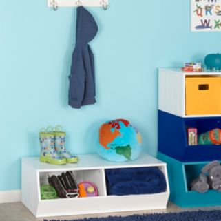 RiverRidge Kids 2-bin Storage Stacker